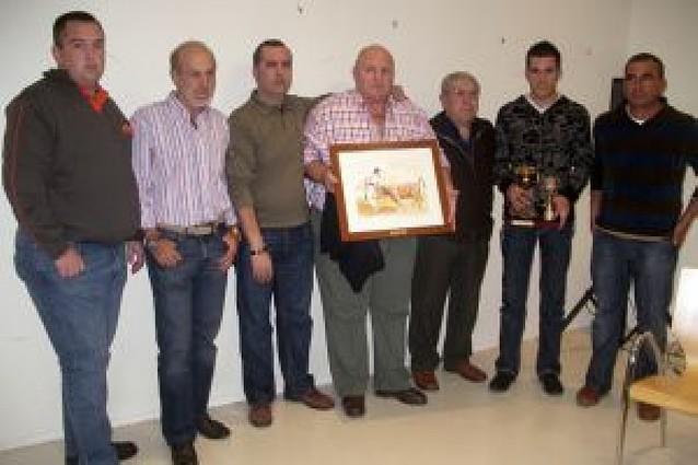 Murillo Conde, de Tauste, recoge el trofeo a la mejor ganadería