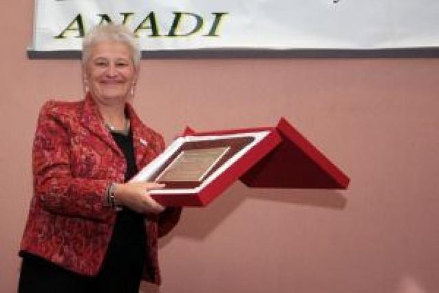 Homenaje a Mirentxu Oyarzabal por su trabajo con niños diabéticos