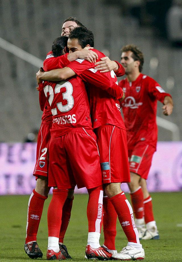 El Numancia toma Montjuïc con un gol en el minuto 93