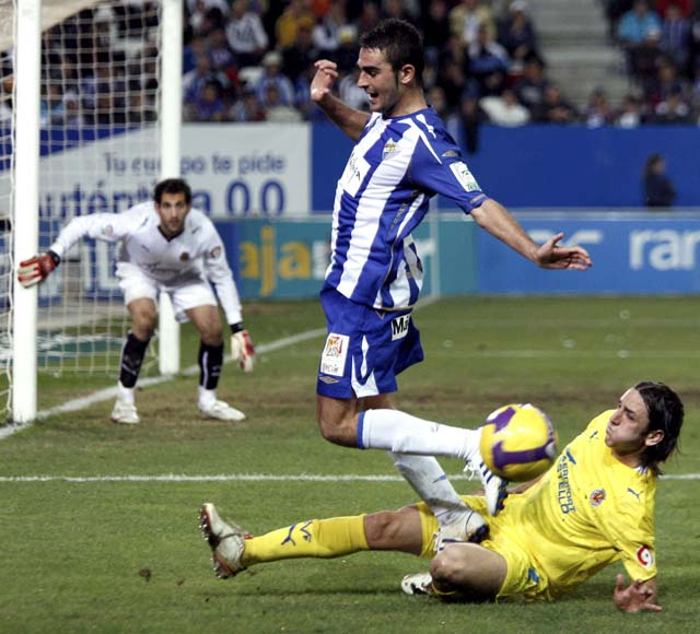 El Málaga rescata un punto ante un eficaz Villarreal