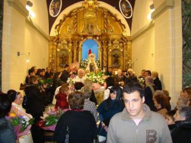Milagro reestrena la ermita de la Virgen del Patrocinio