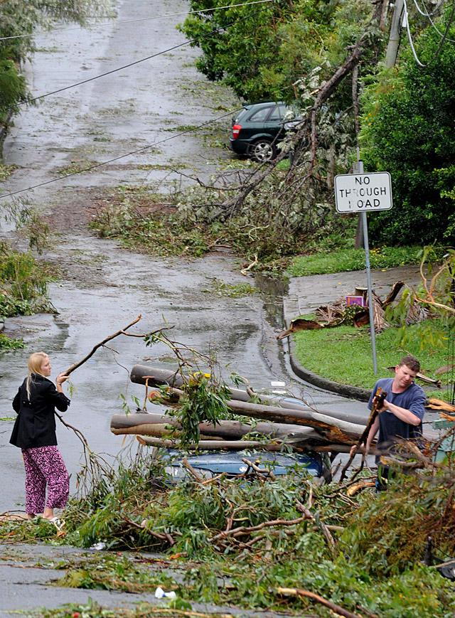 Al menos un muerto por un fuerte ciclón en registrado en Australia