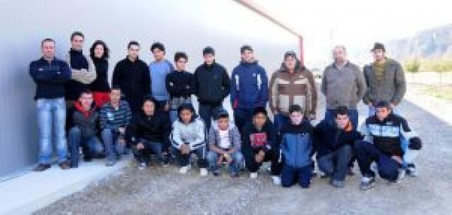 Los 20 alumnos de la nueva escuela taller de Falces comienzan las clases