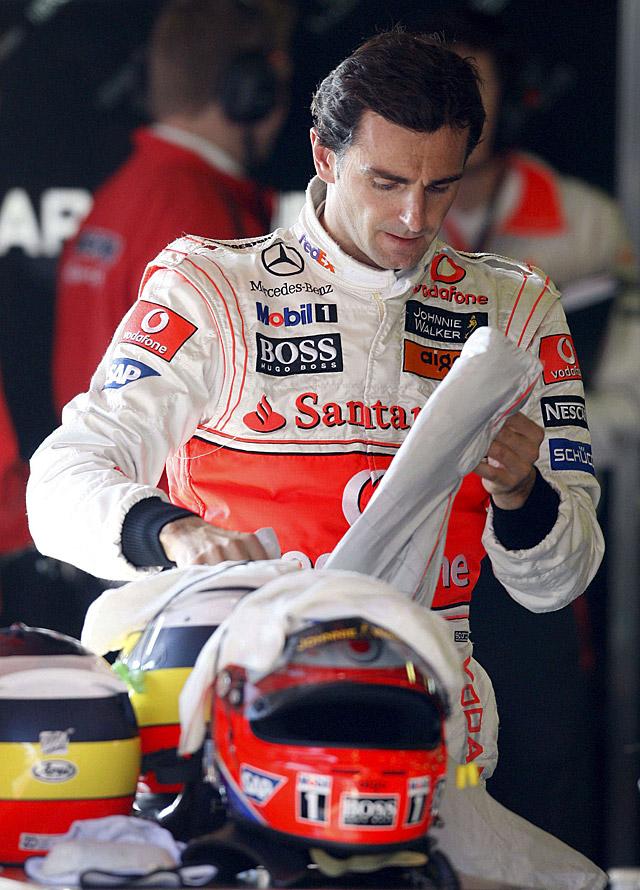 """De la Rosa podría competir en 2009 con el """"Force India-McLaren"""""""