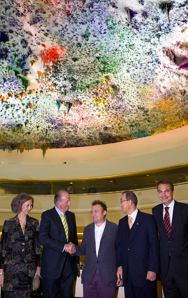 España dona oficialmente a la ONU la remodelada Sala de los Derechos Humanos