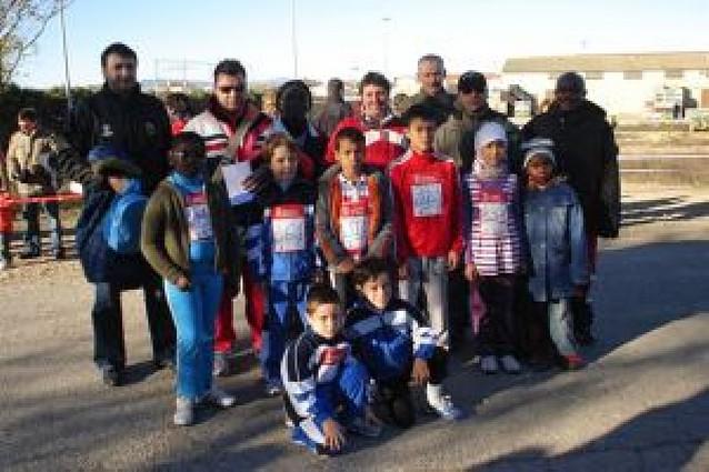 Reunión atlética escolar en Cadreita