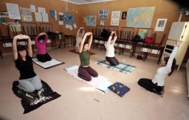 Yoga en inglés, receta para relajarse