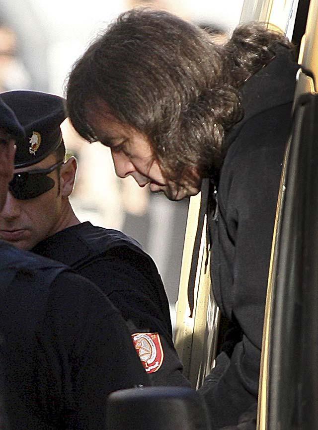 """""""El Solitario"""" comparece ante el tribunal luso que le juzga por intento de atraco"""