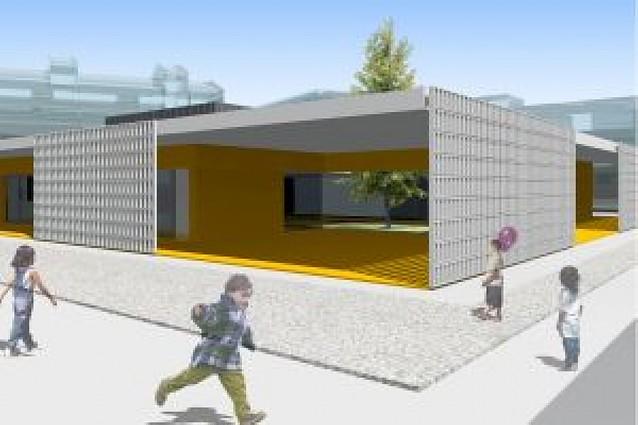 El nuevo centro de 0 a 3 años de San Adrián podrá acoger hasta 140 niños