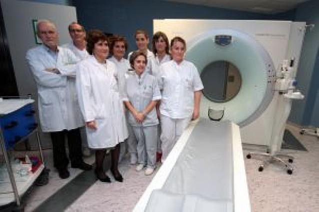Virgen del Camino instala un escáner que permitirá 20.000 estudios al año
