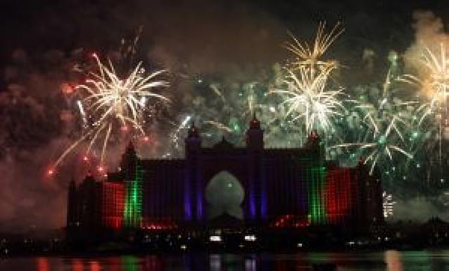 Una fiesta de 16 millones para abrir un hotel en Dubai