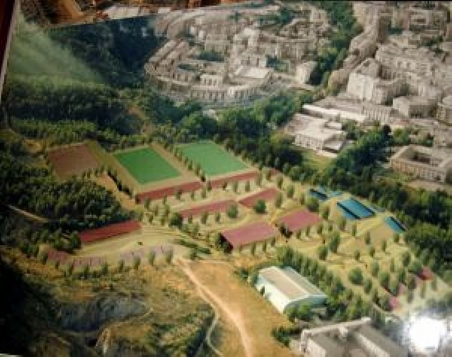 Un complejo deportivo en Valmayor costaría la mitad que el de Oncineda