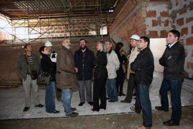 La futura casa de cultura abrirá sus puertas en la primavera de 2010