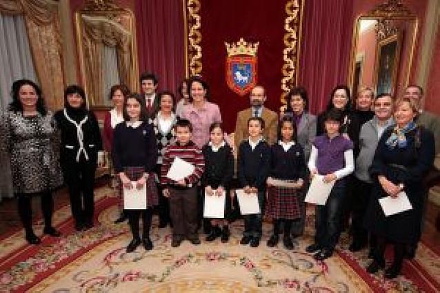 Ganadores del concurso Dibuja Pamplona