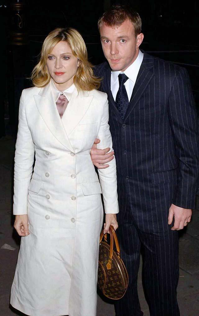 Madonna y Guy Ritchie se divorcian hoy en Londres