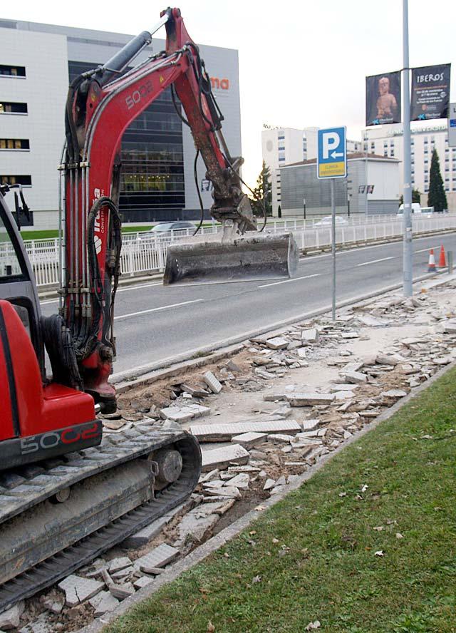 El consistorio de Pamplona modifica ahora el carril bici sin sitio para los peatones