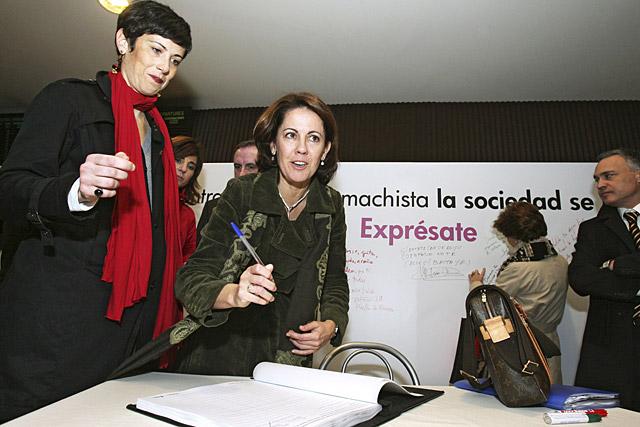 Pamplona acoge varios actos ciudadanos contra la violencia machista
