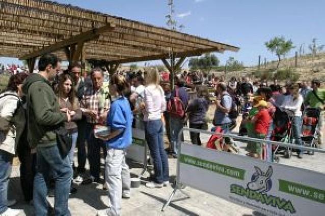 Senda Viva aumenta su número de visitas hasta alcanzar las 175.135