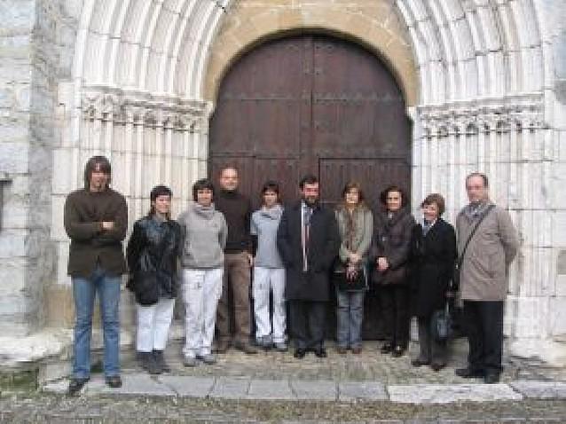Concluyen los trabajos en el antiguo retablo de Ororbia