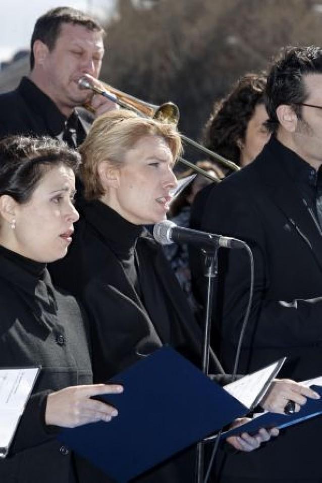 El coro de Sonsoles Espinosa, en Pamplona