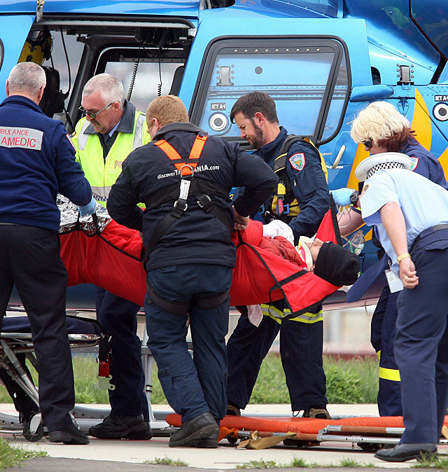 Mark Webber se rompe una pierna durante una prueba deportiva benéfica en Australia