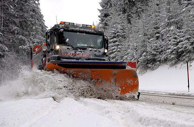 El Gobierno de Navarra activa la alerta naranja por nieve para el lunes