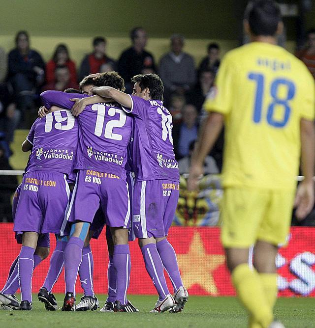 El Valladolid dinamita la racha del Villarreal en su primer triunfo a domicilio