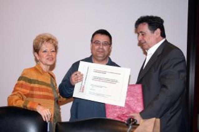 La biblioteca de Sartaguda recibe un nuevo reconocimiento en Madrid