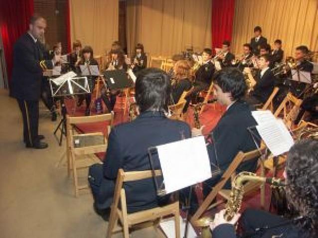 Los músicos riberos honran a Santa Cecilia