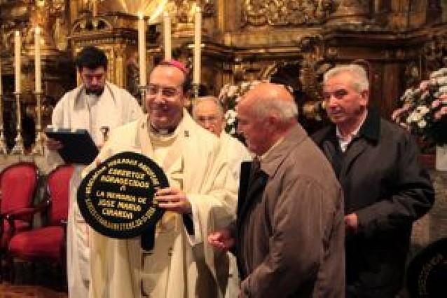 Arkupeak homenajea en Santesteban a Francisco Pérez y a título póstumo a Cirarda