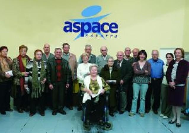 Aspace homenajea a los voluntarios de Beriáin