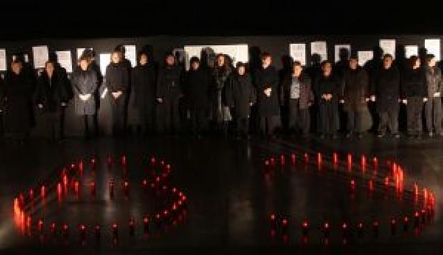 Orkoien homenajea a las 83 víctimas de la violencia de género del último año