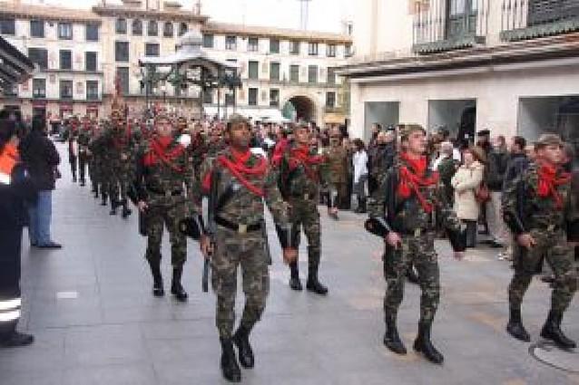 Homenaje a los caídos en la Batalla de Tudela de la Guerra de Independencia