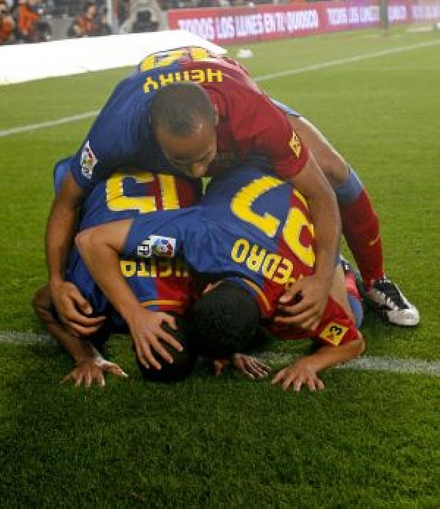Fracaso sin Iniesta y Messi