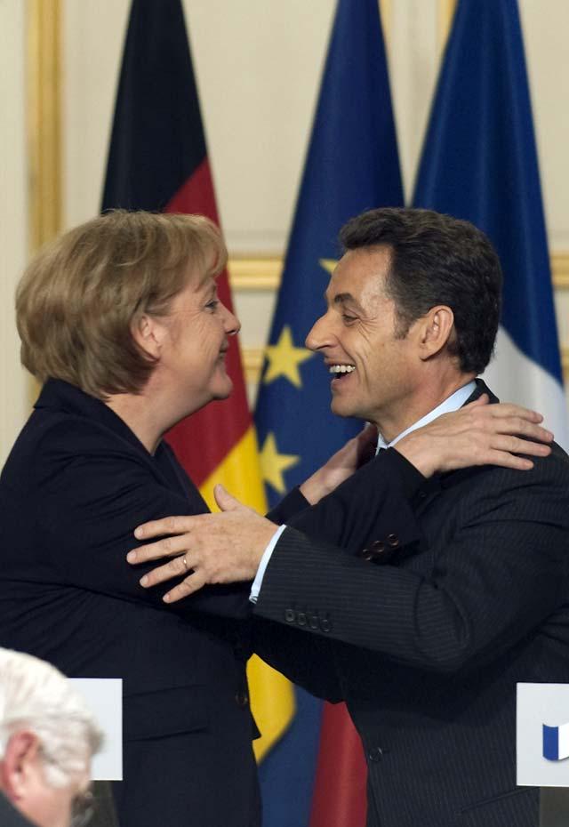 """Sarkozy y Merkel rechazan una bajada generalizada del IVA al considerar que """"no es una buena respuesta"""""""