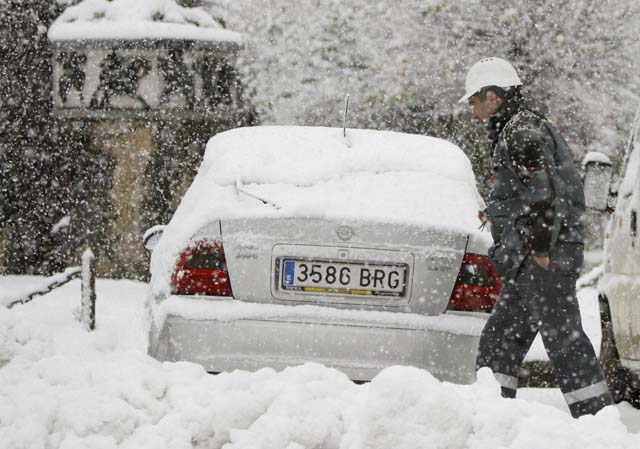 El Gobierno de Navarra activa el primer nivel de alerta ante el temporal de frío