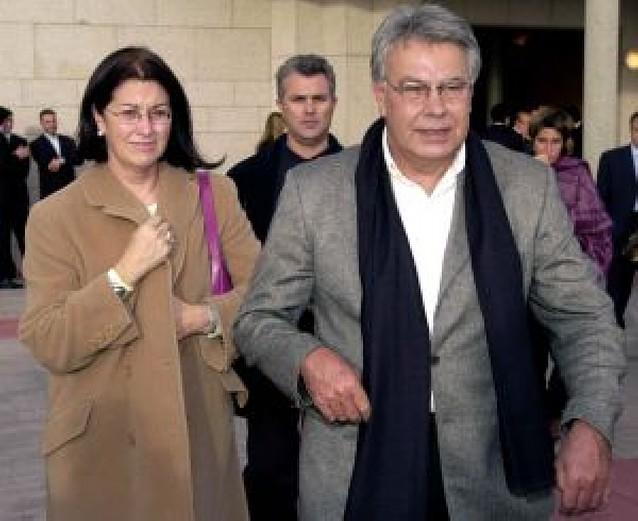 Felipe González y Carmen Romero se separan