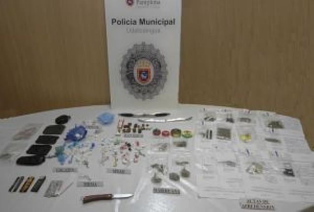 La policía se hace con 3.480 dosis de droga en un bar