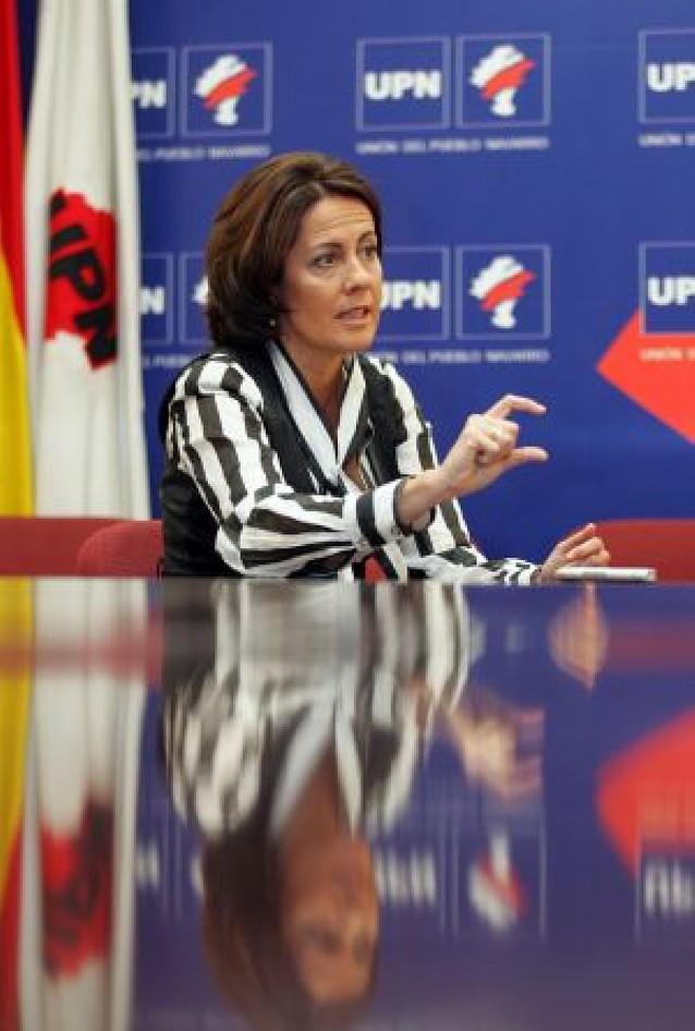 """""""Si Alberto Catalán preside UPN, yo no seré candidata al Gobierno de Navarra"""""""