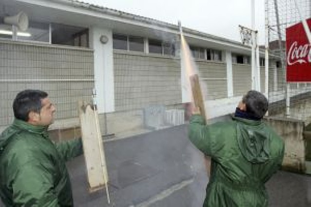 Pólvora en Tajonar