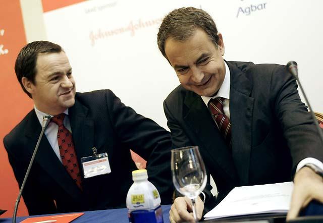 """Zapatero prevé que la inflación será del 2,5% en noviembre y """"menor"""" en diciembre"""