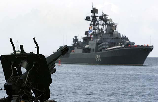 La flota rusa llega a Venezuela para hacer maniobras conjuntas en el Caribe