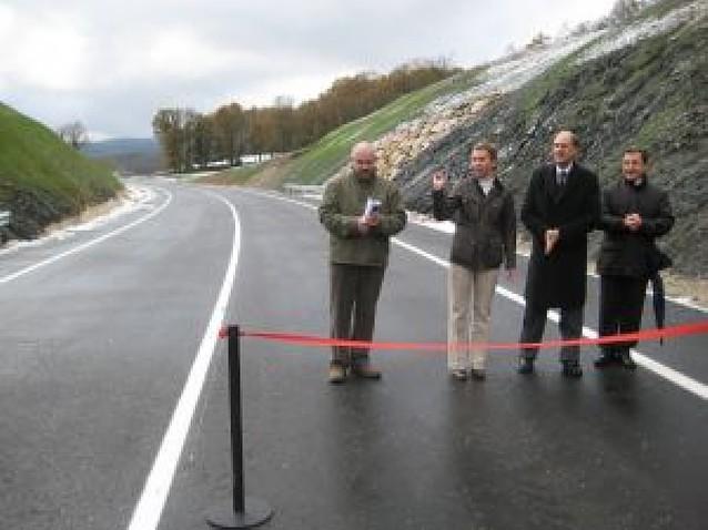 La apertura de la variante de Lekunberri desviará 800 camiones del centro urbano