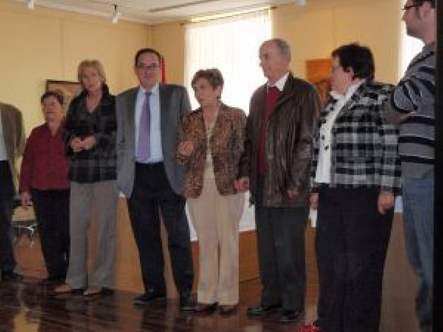 Nati Goñi Idoate, homenajeada por sus 34 años de maestra en Aoiz