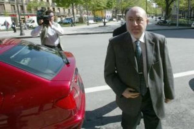La Audiencia ordena embargar el dinero cobrado por Roldán por su entrevista a Tele 5