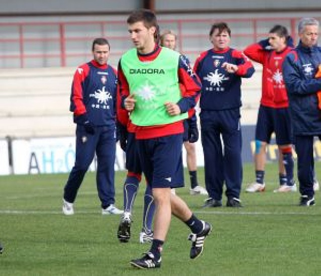 """Oier Sanjurjo: """"No pensaba que iba a durar tanto en el equipo"""""""