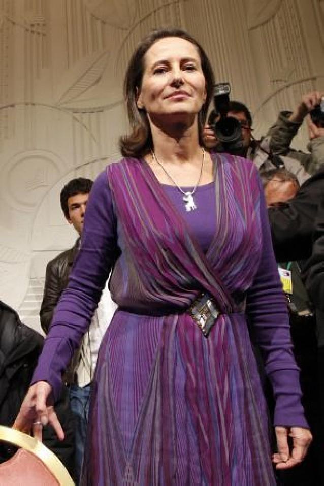 Ségolène Royal mantiene su apuesta de enfrentarse a Nicolas Sarkozy en 2012
