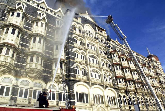 Cronología de la noche del terror en Bombay