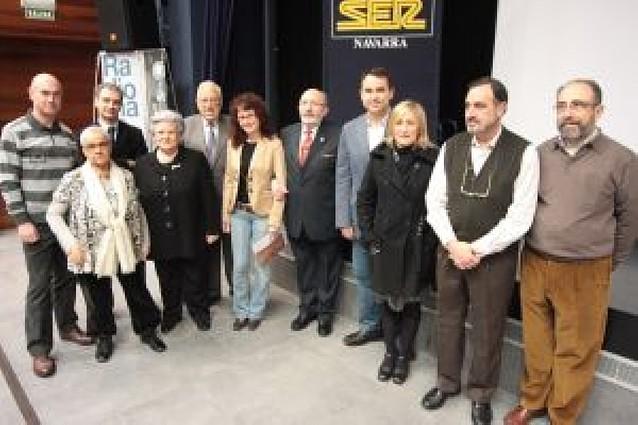 """La radio navarra celebra en """"el aire"""" sus 75 años"""