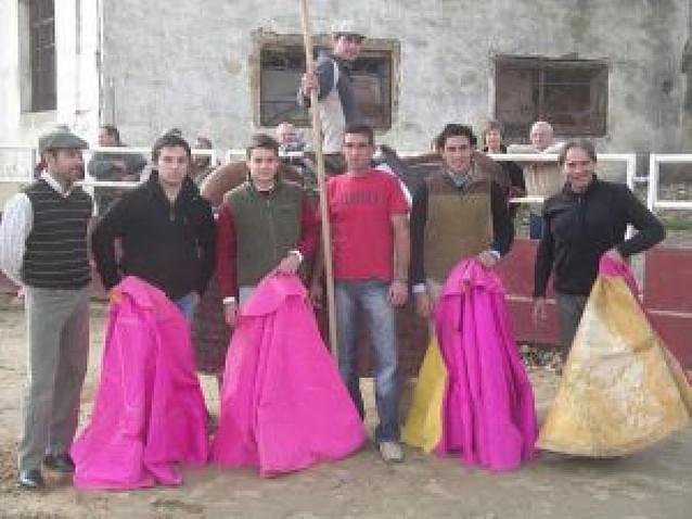 La plaza de Berbinzana recobró el toreo con un tentadero de El Gallo